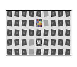 纹理清晰度测试卡和SFR测试卡图像尺寸规